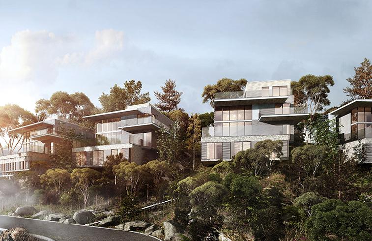 Lake Shore Villas - aotu architecture office ltd.
