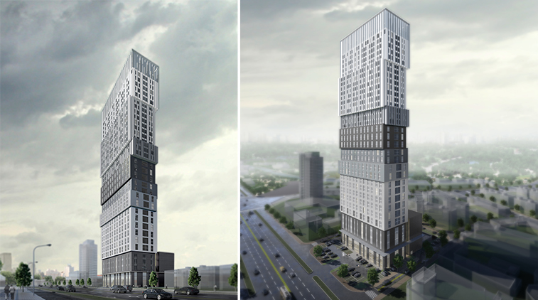 QingShan Tower - aotu architecture office ltd.