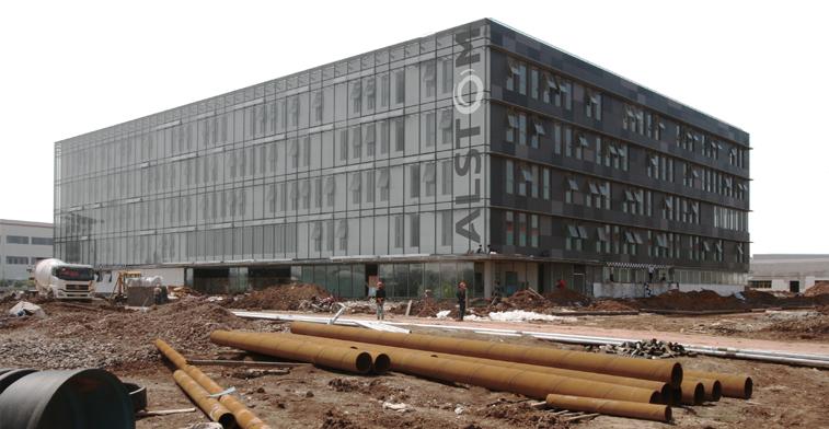 Alstom HQ - aotu architecture office ltd.