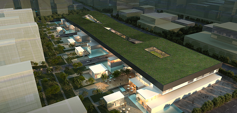 JiaBao commercial planning - aotu architecture office ltd.