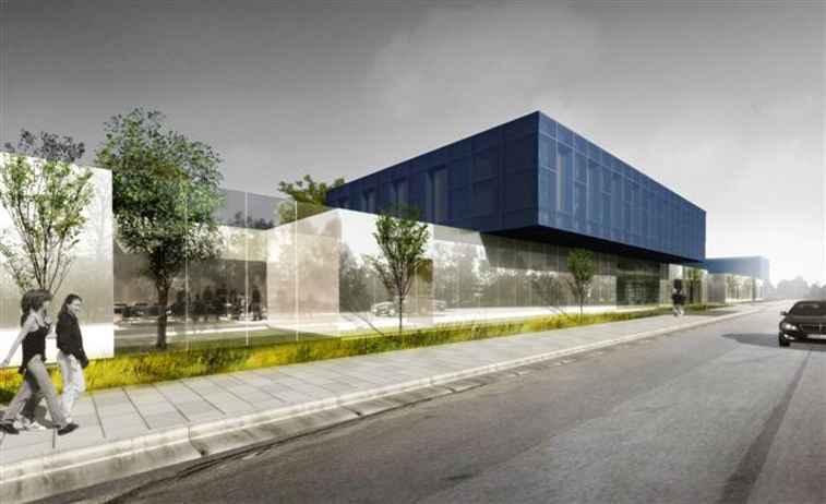 Michelin Office Building - aotu architecture office ltd.