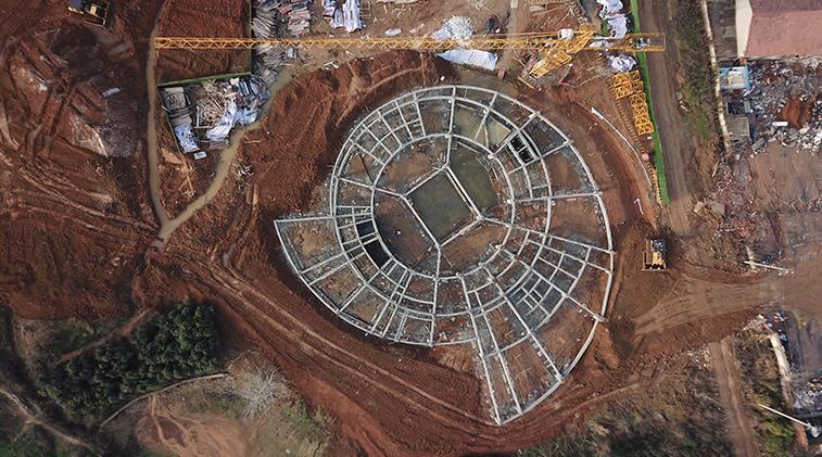 武汉展览中心翱特建筑